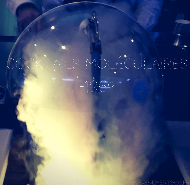 soirée cocktail moléculaire