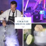 Tournée bar cocktails moléculaires